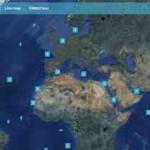 Maersk Container online Tracking auf Google Karte – mit maerskfleet's live-map