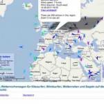 Aktuelle Windmesswerte und Wettermesswerte Schweiz, Deutschland, Österreich, Weltweit –