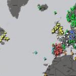Alle Zeitungen der Welt auf einer Google Karte – mit newspapermap.com