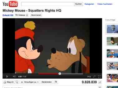 die vier besten Mickey Mouse Youtube Videos