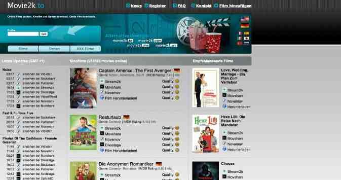 Movie2k.to offline? – Ausweich Adressen movie2k.ws und movie2k.me