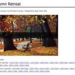 Schöne Hintergrundbilder (Wallpaper) zum Thema Herbst – kostenlos