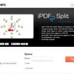 PDF Datei splitten – online mit iPDF2Split