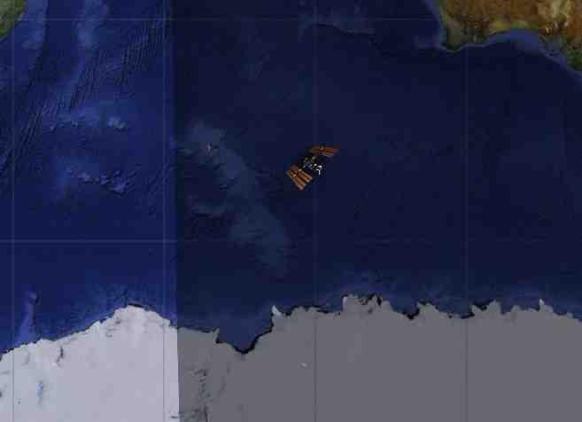 ISS Position - Wo befindet sich die ISS gerade? - Schauen