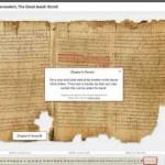 Qumran Schriftrollen (Bibel) online lesen – Dank Google und dem Israel Museum