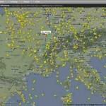 Flugverkehr live beobachten – die 3 besten Seiten
