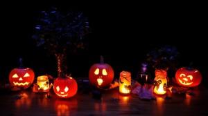 Halloween Kuerbis schnitzen Vorlage