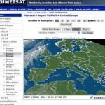 Wetter Satellitenbilder –  Deutschland, Schweiz und Österreich – mit EUMETSAT