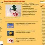 Basteln für Weihnachten – Weihnachtsdeko – mit basteln-gestalten.de