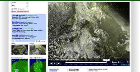 live wetter satellitenkarte