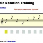 Musiknoten Training online