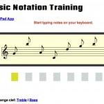 Musiknoten Training – online mit notationtraining.com