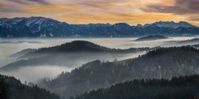 Nebelgrenze Schweiz