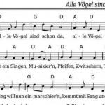 Noten und Texte für Kinderlieder – kostenlos Liederbuch – mit Kinder wollen singen