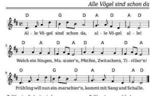 Noten und Texte Kinderlieder Liederbuch kostenlos