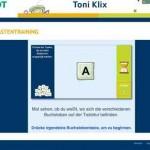 Tastatur Buchstaben Training für Kinder – mit toniklix.de