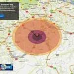 Atombombe überleben? – Reichweite Atomexplosion mit wouldisurviveanuke.com