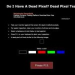 Pixelfehler Test – online mit doihaveadeadpixel.com
