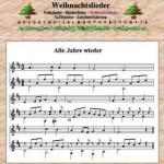 Weihnachtslieder Noten – mit herbert-fritz.de