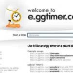 Eieruhr online – kostenlos mit e.ggtimer.com