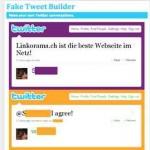 Twitter fake Nachrichten selber machen – mit faketweetbuilder.com