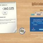 IP Adresse herausfinden – online mit ipnotebook.net