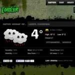 Eine Zombie Wettervorhersage – mit weatherzombie.com
