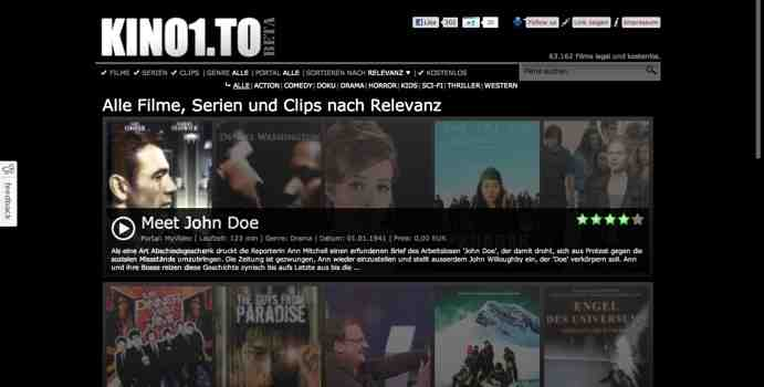 gratis filme online schauen legal
