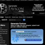Favicon Generator online – mit generatefavicon.com