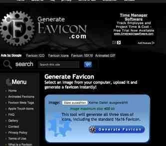 Favicon Generator online