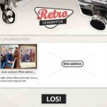Retro Bilder selber machen – online mit retro-generator.com