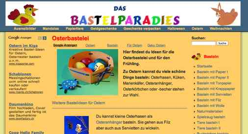 Download Kinderbasteln Zu Ostern Fensterbild ...