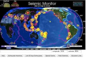 Erdbeben Monitor