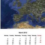 Kalender mit Google Maps online erstellen – mit speedymarks.com