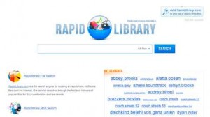 One Click Hoster Suchmaschine   Rapidshare Search   mit rapidlibrary.com