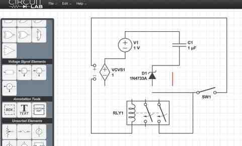 Schaltplan online zeichnen - mit circuitlab.com – Linkorama.ch