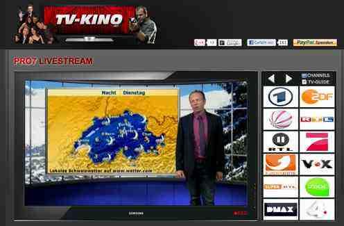 Online mediathek und tv stream mit for Mediathek rtl spiegel tv