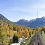 Albula Bernina Bahn online – mit Google Street View