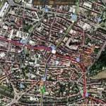 Freiburg Stadtbahn online Tracker