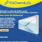 Grosse Dateien versenden – mit file2send.de
