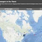 Passagierliste Titanic – mit storymaps.esri.com