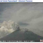 Vulkanausbruch Mexiko Webcam – Popocatepetl