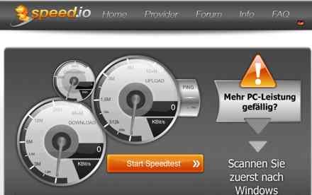 Online Internet Speedtest