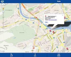 Behindertenparkplätze Online Karte