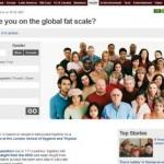 Bin ich zu fett? Globaler BMI Vergleich mit BBC