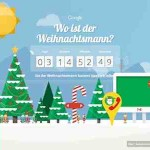 Weihnachtsmann live verfolgen – online mit Santa Tracker