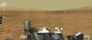 Mars Curiosity Street View