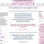 Internet Verhaltensregeln – 101 Leitlinien mit eetiquette.de