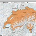 Zeckenkarte Schweiz – admin.ch zeigt wo FSME Gefahr lauert
