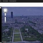 Online Eiffelturm Aussicht geniessen – mit Google Street View